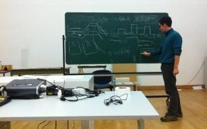 Workshop in der Hochschule für Grafik und Buchkunst Leipzig, 2011